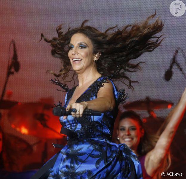 Ivete Sangalo se apresentou nesta sexta-feira, 13 de setembro de 2013, no Rock in Rio