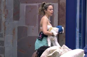 'BBB16': Ana Paula briga com Ronan ao saber de conversa com Tamiel. 'Sou dessas'