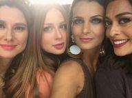 Marina Ruy Barbosa faz selfie com atrizes e fãs elogiam: 'Totalmente divas'