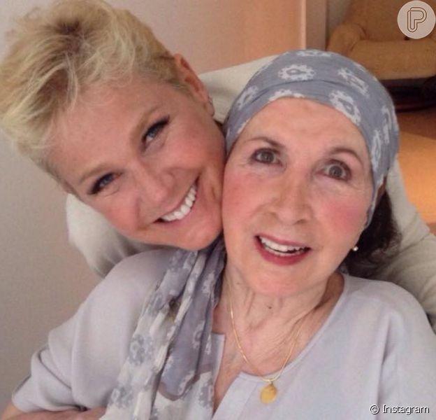 Alda Meneghel, mãe de Xuxa, recebeu alta do hospital nesta sexta-feira, 19 de fevereiro de 2016