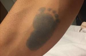 Ex-BBB Rodrigão exibe tatuagem feita em homenagem ao filho no braço: 'Príncipe'