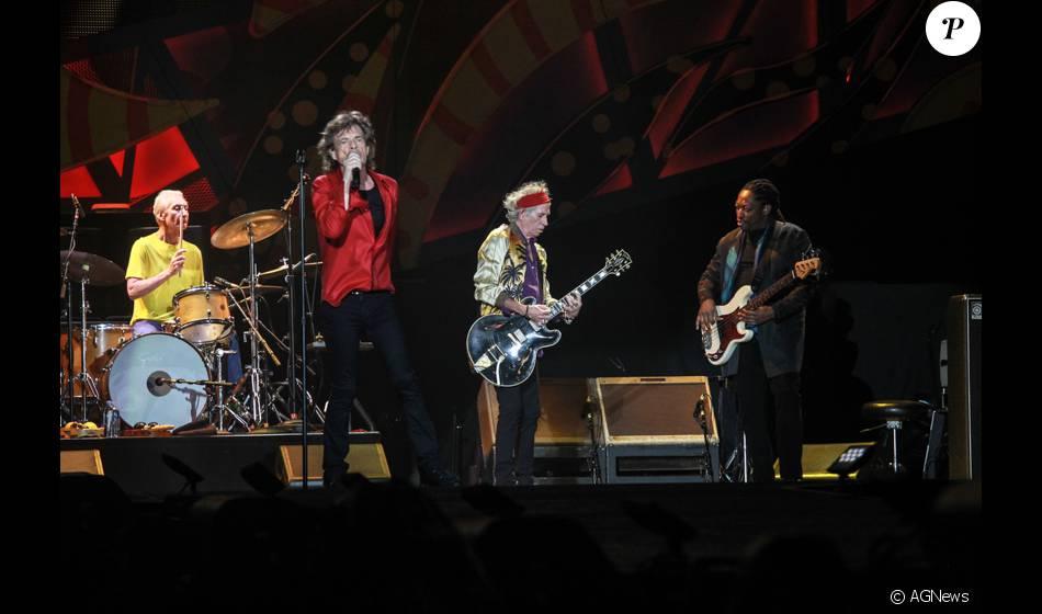 Rolling Stones se apresentam no Maracanã, no Rio de Janeiro