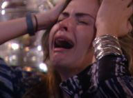 'BBB16': Ana Paula chora ao ver homenagem da família. 'Meu pai está ótimo'