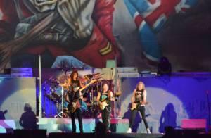 Pela 3ª vez no Rock in Rio, Iron Maiden faz show com sucessos dos anos 80