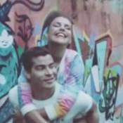 Thiago Martins e Paloma Bernardi gravam 1° comercial juntos, no Vidigal, no Rio