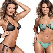 Fernanda Souza, namorada de Thiaguinho, conta os segredos de seu abdômen sarado