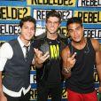 Arthur Aguiar também esteve na novela teen 'Rebelde', que também contou com Chay Suede e Micael Borges