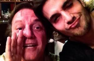 Fiuk posta foto ao lado do pai, o cantor Fábio Jr., na noite do Natal