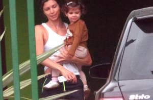 Grazi Massafera é flagrada com a filha no Paraná após separação de Cauã Reymond