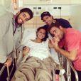 Maya Gabeira está em Portugal acompanhada dos amigos Pedro Scooby, Carlos Burle e Felipe Cesarano