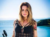 Leticia Spiller surgirá tatuada na novela 'Sol Nascente' e vai cantar em cena