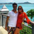 Para outro passeio na Tailândia com o com o namorado, Xandinho Negrão, Marina Ruy Barbosa escolheu túnica Resort Couture de renda guipir laranja, vendida por R$ 670
