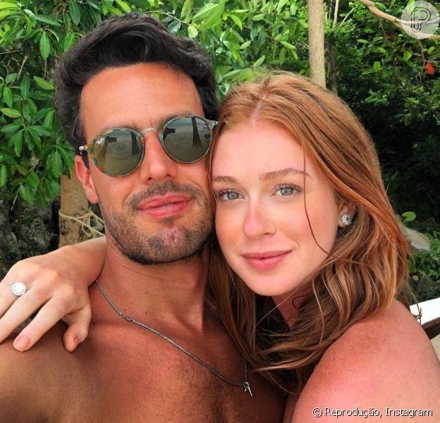 Marina Ruy Barbosa e Xandinho Negrão curtem viagem de férias a Tailândia, onde ficaram noivos