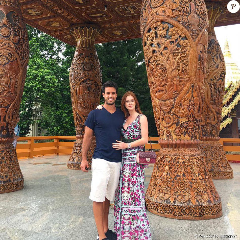 6657d0cdee Marina Ruy Barbosa e o noivo