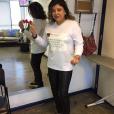 Estourada nas redes sociais, Roberta Miranda usou camisa estampada com um de seus posts. 'A frase é de minha autoria', contou a artista, que pretende vender as camisetas