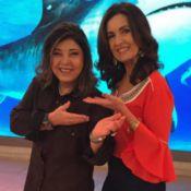 Que gafe! Roberta Miranda divulga programa de Adriane Galisteu no 'Encontro'