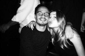 Sasha Meneghel janta com amigos antes de viajar para EUA: 'Matando a saudade'