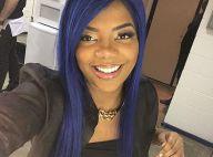 Ludmilla, com cabelo todo azul, participa da reta final de 'Malhação': 'Ansiosa'
