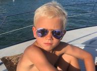 Justin Bieber mostra irmão de 6 anos, Jaxon, cheio de estilo em iate: 'Que fera'