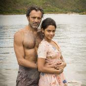 Domingos Montagner elogia Lucy Alves, sua mulher em 'Velho Chico':'Talento nato'