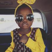 Irmão de Giovanna Ewbank posta foto da menina adotada pela irmã na África