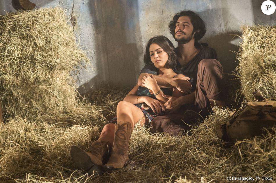 Olívia (Giullia Buscacio) e Miguel (Gabriel Leone) podem não ser irmãos, diz Bruno Luperi, autor da novela 'Velho Chico', em 7 de julho de 2016