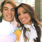 Patrícia Poeta leva tocha olímpica, mas o filho de 14 anos rouba a cena: 'Lindo'