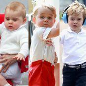 Príncipe George comemora 3 anos! Relembre fotos fofas do filho de Kate e William