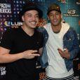 Neymar curtiu o show de Wesley Safadão em São Paulo na madrugada deste  sábado, 9 de julho de 2016
