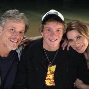 Filho de Letícia Spiller e Marcello Novaes estreia como ator na TV:'Emocionante'