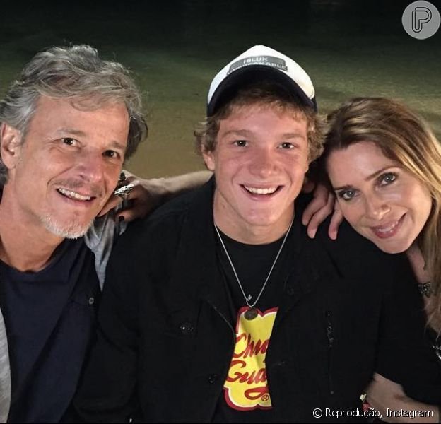 Filho de Letícia Spiller e Marcello Novaes, Pedro Novaes, de 19 anos, vai estrear como ator na TV em 'Sol Nascente'
