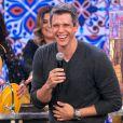 Marcio Garcia estreou no programa em 'Tamanho Família' e agitou a web
