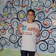 Isabella Santoni, que terá leucemia na TV, visita crianças com câncer nesta segunda-feira, dia 11 de julho de 2016