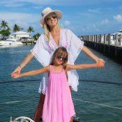 Ana Paula Siebert e Rafaella Justus se divertem em Miami: 'Princesinha'. Fotos!