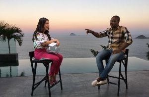 Thiaguinho lembra brincadeira sobre a mulher na infância: 'Vou casar com a Mili'