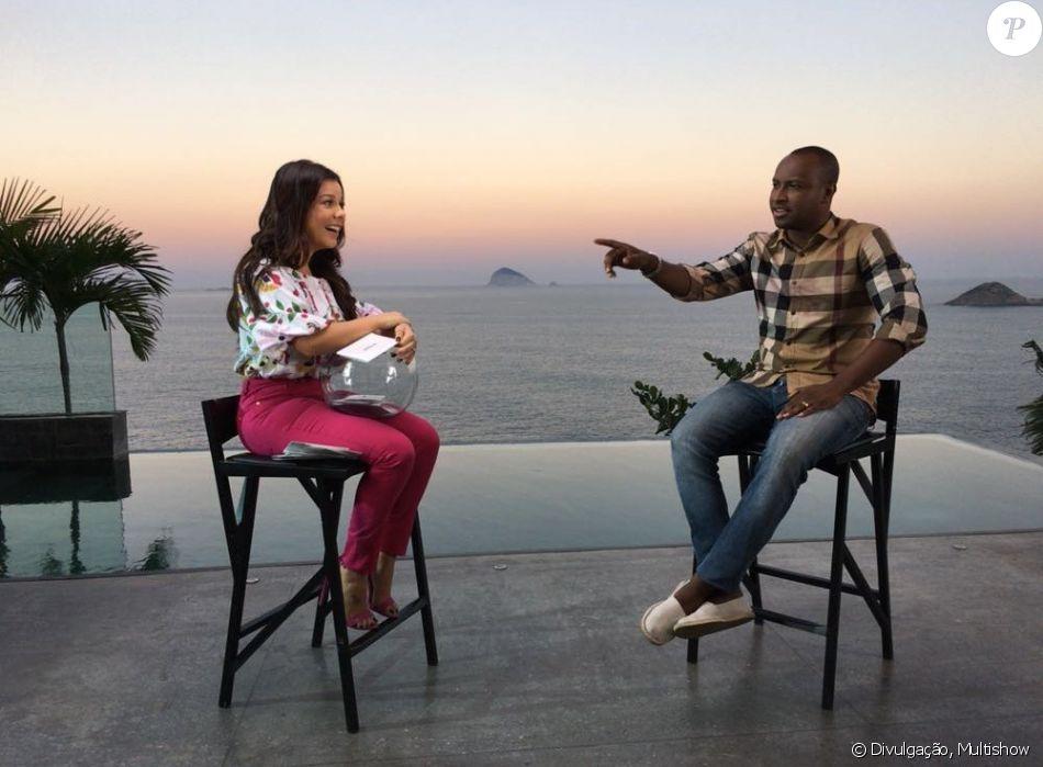 Thiaguinho lembra brincadeira sobre a mulher, Fernanda Souza, na infância: 'Vou casar com a Mili'