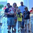 Luciano Huck e Angélica são pais de Joaquim, de 11 anos, Benício, de 8, e Eva, de 3