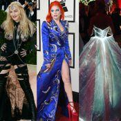 Veja fotos dos famosos que apostam em looks inusitados e extravagantes!