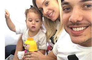 Wesley Safadão parabeniza a filha, Ysys, pelo aniversário de 2 anos: 'Princesa'