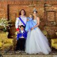 Wesley Safadão e Thyane Dantas comemoraram o primeiro aniversáro de Ysis, que completa 2 anos nesta quinta-feira, 14 de julho de 2016, com festa, em 2015. O casal vai repetir a dose na próxima segunda-feira, 18 de julho de 2016