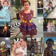 Wesley Safadão fez uma montagem com várias fotos da filha, Ysis, que completa 2 anos nesta quinta-feira, 14 de julho de 2016, e postou no Instagram