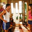 'Beleza Pura', novela de 2008, com Ísis Valverde no papel da famosa Rakelly. O romance do casal passou da ficção para a vida real