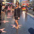 Zilu Godoi está curtindo dias de folga em Hollywood, nos Estados Unidos,  e compartilhou fotos em seu Instagram, nesta sexta-feira, 15 de julho de 2016