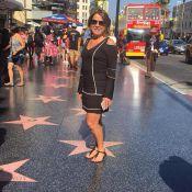 Zilu visita Hollywood nas férias: 'Seja dono da estrela de sua fama'. Fotos!