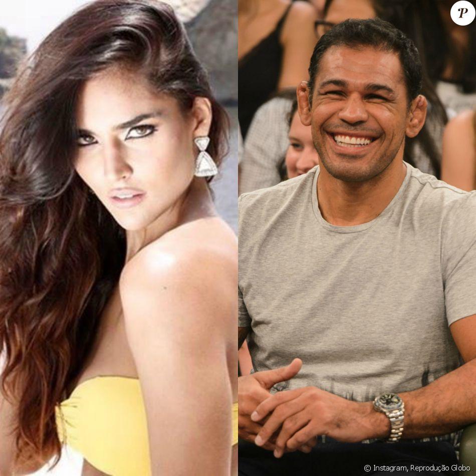 Rodrigo Minotauro e Miss Nathalia Pinheiro terminam namoro de 8 meses como