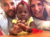 Bruno Gagliasso e Giovanna Ewbank matriculam a filha, Titi, em colégio no Rio