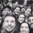 Luana Piovani e Pedro Scooby foram ao show de Beyoncé em Amsterdam