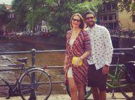Luana Piovani posa com Pedro Scooby em Amsterdam após show de Beyoncé