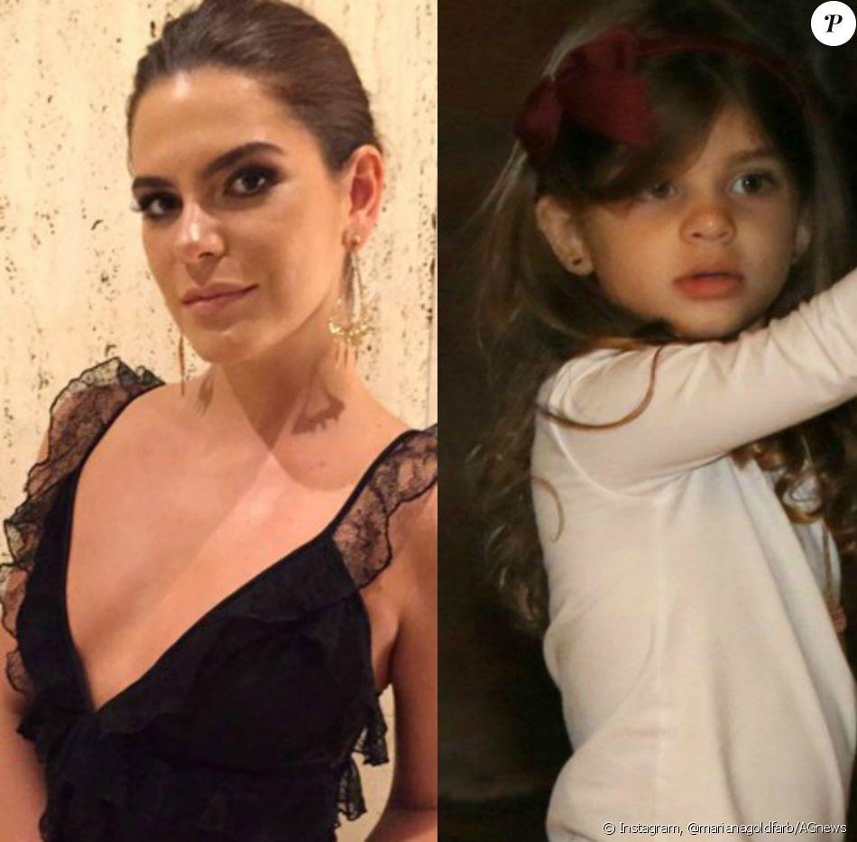 Mariana Goldfarb elogia filha do namorado, Cauã Reymond: 'A nossa relação foi muito espontânea'