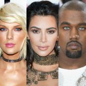 Kim Kardashian solta áudio de Taylor Swift aprovando hit 'Famous', de Kanye West